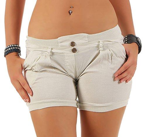 Pantaloni Pantaloncini Universal Elastic Beige Cintura 6089 Dei Malito colore In Donna a01xngn