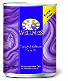 Wellness Canned Cat Food, Turkey and Salmon Recipe, 12-Pack of 12-1/2-Ounce Cans, My Pet Supplies