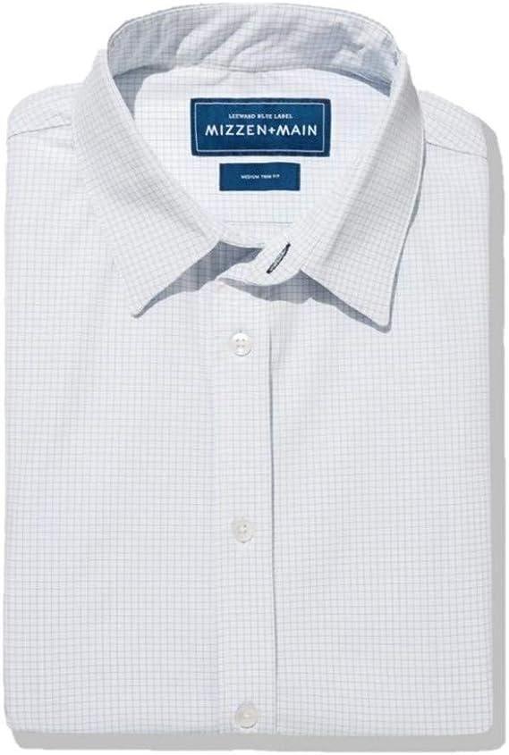 Mizzen + Main Blue Label Camisa de vestir para hombre de ...