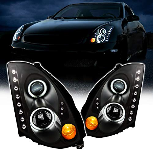 03 g35 headlights coupe - 1