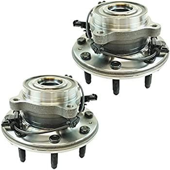 Front Wheel Bearing /& Hub Assembly LH RH Set of 2 Pair for Chevy Caprice G8