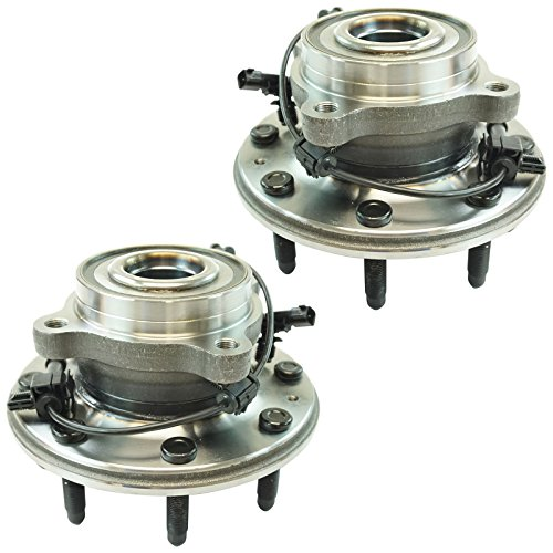 Front Wheel Bearing & Hub Assembly LH RH Set of 2 Pair for Chevy GMC 2500 3500