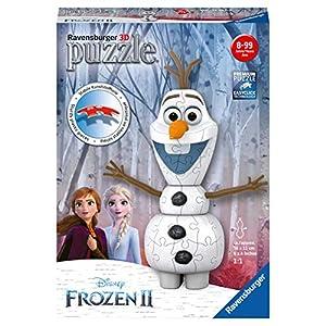 Olaf Ravensburger Frozen 2 3d Puzzle Multicolore 11157