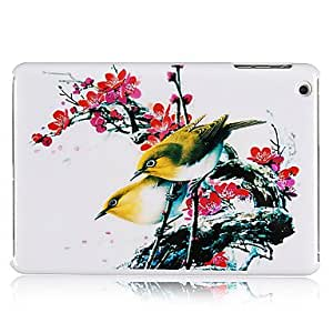 Buy Birds on Plum Blossom Pattern Plastic Back Case for iPad mini