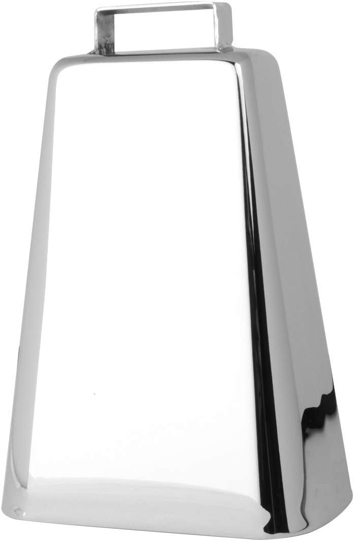GG Grand General 57304 Large Chrome Plated Cow Bell