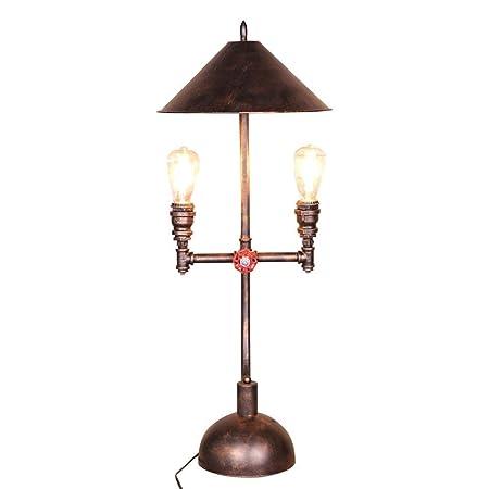 ZHANG NAN * Lámpara de Mesa Vintage, lámpara de Mesa Industrial de ...