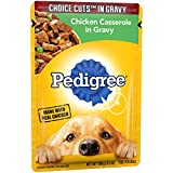 Pedigree Choice Cuts In Gravy Chicken Casserole Adult Wet Dog Food, (16) 3.5 Oz. Pouches Review