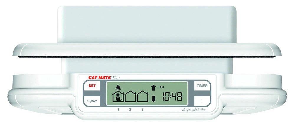 Cat Mate Elite Microchip Cat Door With Timer Control