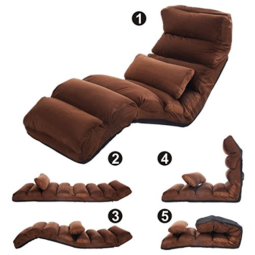 51HaWdrEpfL - Folding-lazy-sofa-chair-stylish-sofa-couch-beds-lounge-chair-pillow-coffee-for-floor-use-playing-games-watching-TV-or-reading