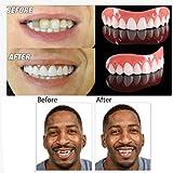 Loveje Men Women Perfect Smile Veneers Denture Paste Instant Teeth Flex 1pc Silicone (1pcs)