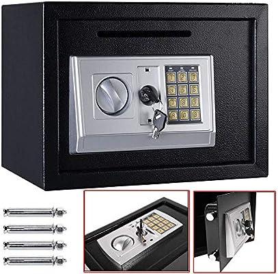 Caja Fuerte electrónica Grande para la Pared, Caja de Seguridad para el hogar, combinación de Llaves