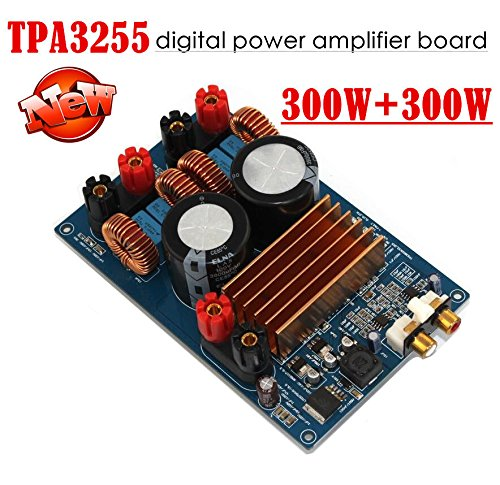 Nobsound TPA3255 Digital Power Amplifier Class D Audio Amp Assembled Board 300W+300W HiFi (Amp Board)