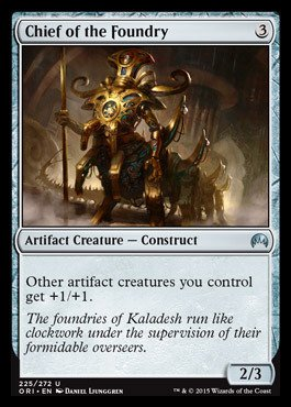 Magic: the Gathering - Chief of the Foundry - Origins