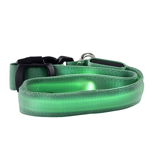 Ultron LED save-E Hundehalsband, grün 140859