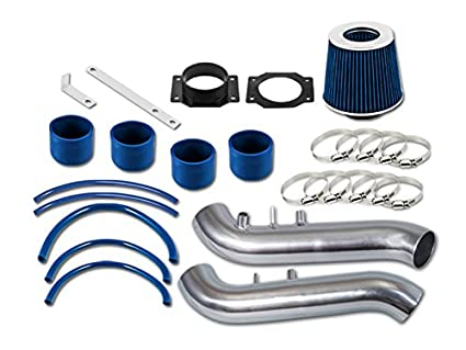 Amazon.com: R&L Racing Blue Short Ram Air Intake Kit + Filter For Nissan 90-96 300ZX Fairlady Z32 3.0 V6 Non-Turbo: Automotive