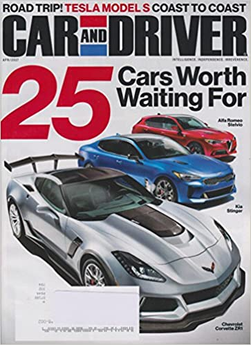 Car And Driver April 2017 25 Cars Worth Waiting For Alfa Romeo