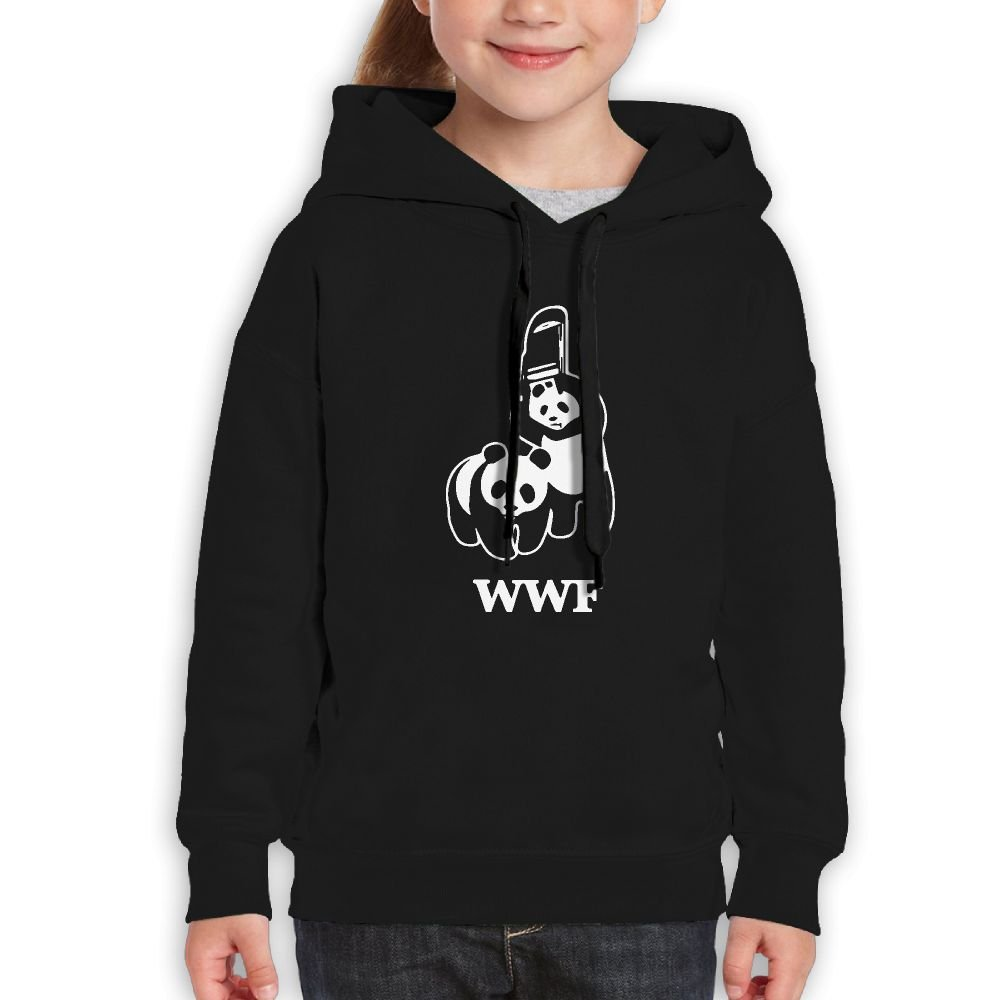 NEWWEY WWF Panda Bear Wrestling Hooded Sweatshirts For Boys/Girls by NEWWEY