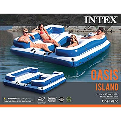 Intex Oasis Island: Toys & Games