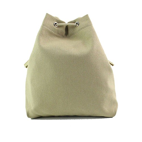 Drawstring Backpack, MagicQueen Fashion Women Canvas Shoulder Bag Crossbody Bags 21X2X23CM - Fashion Eyeglasses 2015