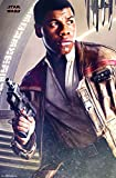 "Trends International Wall Poster Star Wars Episode VIII The Last Jedi Finn, 22.375"" x 34"""