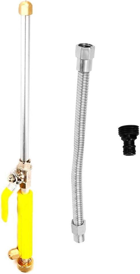 Gorgeri 46cm Limpiador de alta presión Chorro de agua Power Car Clean Spray para lavadora, herramienta para chorro de agua(water gun+Plus 20CM tube)