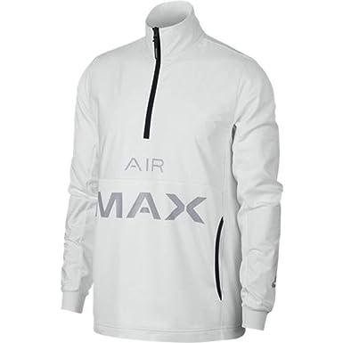 Nike Mens Sportswear Air Max Half Zip Jacket Summit White