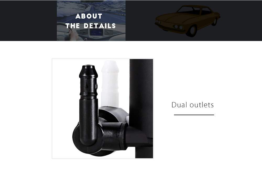 DDG EDMMS - Bomba limpiaparabrisas para Ford Mondeo Mk3 (2000-2007): Amazon.es: Bricolaje y herramientas