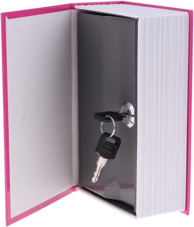 Caja de Seguridad Libro Estilo Diccionario Portátil Combinación de Bloqueo 18x11.5x5.5cm - bailarina de llaves: Amazon.es: Oficina y papelería