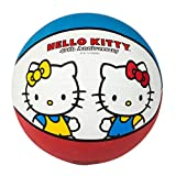 Hello Kitty Sports 40th Anniversary Basketball, 27.5-Inch, Red/Blue/White