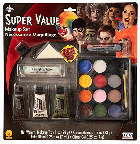 Halloween Makeup New York (Super Value Costume Make-Up)