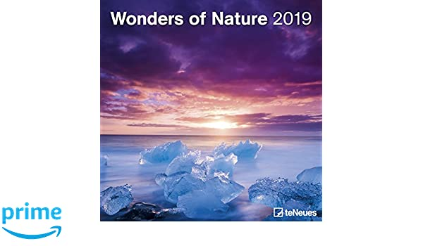 2019 Wonders of Nature Grid Calendar: Amazon.es: teNeues ...