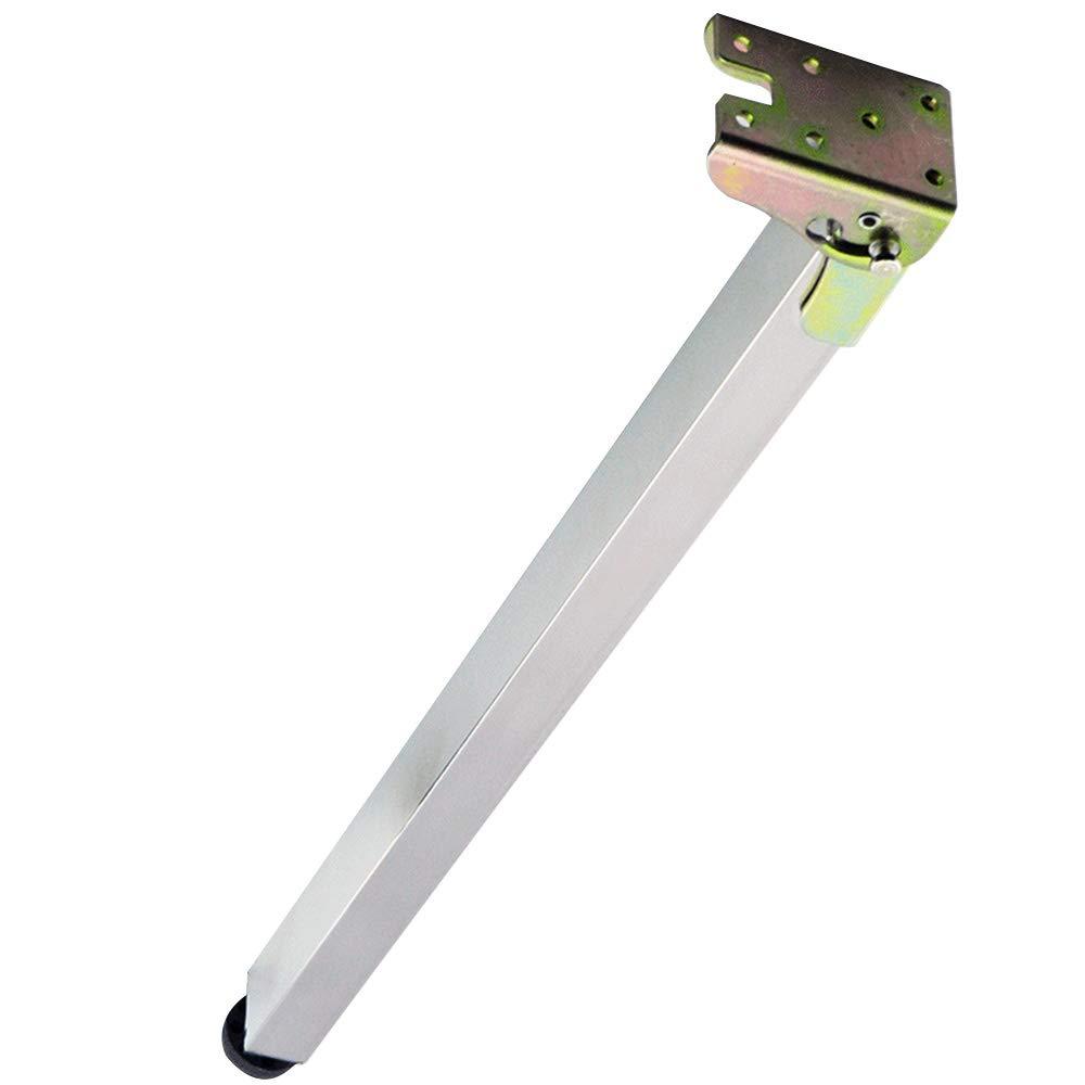 HRD Furniture feet/Stainless Steel Folding Telescopic feet/Adjustable Table Fixed feet/Rectangular Tube/Load 200kg