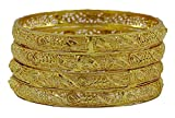 Matra Goldplated Indian Traditional Bollywood Women Bangles Bracelet Kada Jewelry