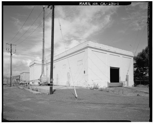 HistoricalFindings Photo: Oakland Substation,Foot of East Span of Bridge,Oakland,Alameda County,CA
