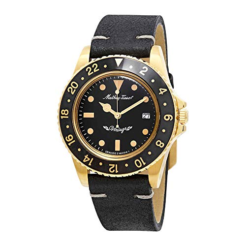 Mathey-Tissot Rolly Vintage Black Dial Mens Watch H900PLN