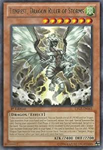 Yu-Gi-Oh! - Tempest, Dragon Ruler of Storms (LTGY-EN041) - Lord of the Tachyon Galaxy - 1st Edition - Rare