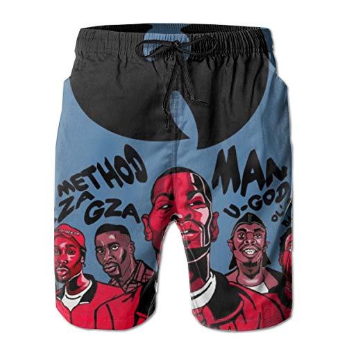 WU-Tang-Member Playbill 2019 Summer Casual Beach Board Shorts Pants for Men Teens Boys