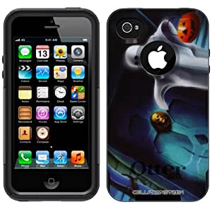 Otterbox Commuter Halloweeneen Ghost with Pumpkin on Black Case for Apple iPhone 4