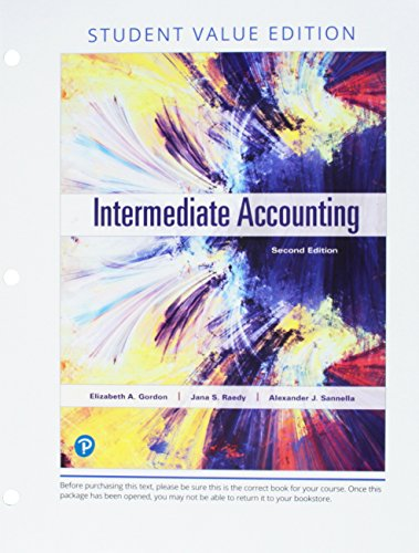 Intermediate Accounting, Student Value Edition Plus MyLab Accounting with Pearson eText -- Access Card Package (2nd Edit