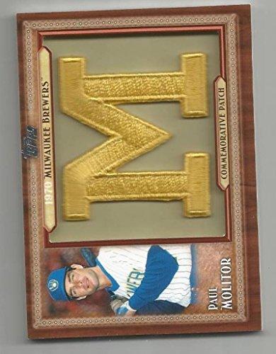 Baseball MLB 2011 Topps Update Commorative Patch #TLMP-PM Paul Molitor #TLMP-PM - Nm Pm
