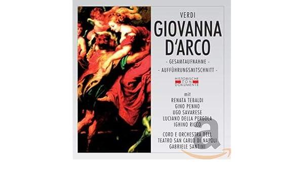 Giovanna Darco: Coro E Orchestra Dell Teatro San Carlo di Napoli, Verdi: Amazon.es: Música
