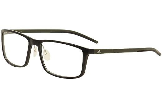 Adidas Eyeglasses Litefit 2.0 AF4610 692/10 6113 Black/Olive Optical ...