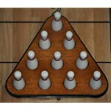 Playcraft Deluxe Pin Setter & Set of 10 Hardwood Bowling Pins