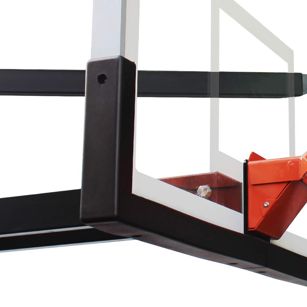 Progoal ユニバーサル UV耐性 バスケットボール バックボード パッド 48インチ、54インチ、60インチ、72インチ バスケットボールシステム 屋内 屋外 B07K2R3VML ブラック 72\