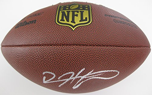 Devin Hester Nfl (Devin Hester, Atlanta Falcons, Chicago Bears, Signed, Autographed, NFL Duke Football, a COA with the Proof Photo of Devin Signing the Football Will Be Included)
