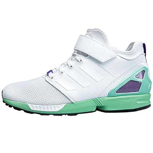 Sneaker White Top Originals Blanc Zx Nps Chaussures Mid Flux Femme Baskets Adidas Femmes YOU7xP