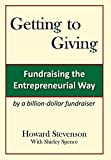 img - for Getting to Giving: Fundraising the Entrepreneurial Way book / textbook / text book