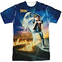 Back to the Future 80 SyFy Comedy Movie Film Poster Adult 2-Sided Print T-Shirt