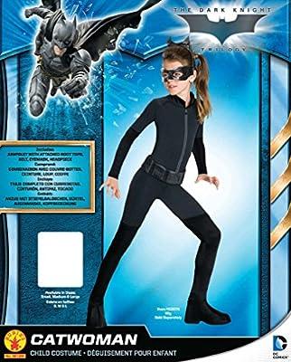 Disfraz Catwoman New Movie™ para niña - 10-12 años: Amazon.es ...