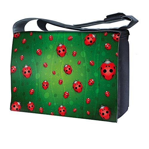 Ektor - Bolso al hombro para mujer Ladybugs on the Green